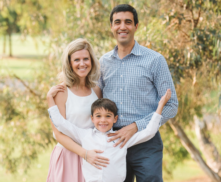 Lifetime Adoptive Parents Ramzi and Kristina