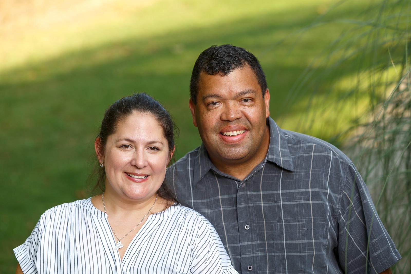 Lifetime Adoptive Parents Oreste and Catherina