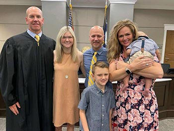 adoption is finalized by judge
